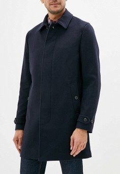 Пальто, Banana Republic, цвет: синий. Артикул: BA067EMFRJT3. Одежда / Верхняя одежда / Пальто
