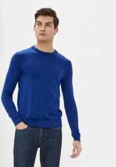 Джемпер, Banana Republic, цвет: синий. Артикул: BA067EMIDBN3. Одежда / Джемперы, свитеры и кардиганы / Джемперы и пуловеры