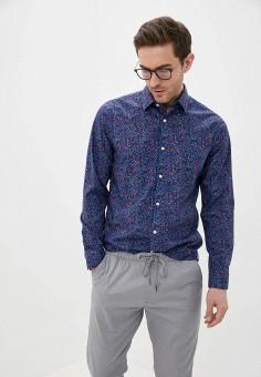 Рубашка, Banana Republic, цвет: синий. Артикул: BA067EMIDBP8. Одежда / Рубашки