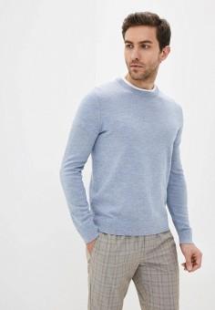 Джемпер, Banana Republic, цвет: голубой. Артикул: BA067EMIDDA9. Одежда / Джемперы, свитеры и кардиганы / Джемперы и пуловеры