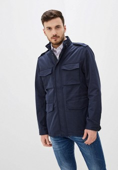 Куртка, Banana Republic, цвет: синий. Артикул: BA067EMIDDB1. Одежда / Верхняя одежда / Демисезонные куртки