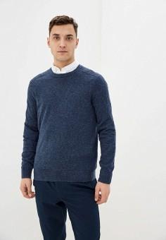 Джемпер, Banana Republic, цвет: синий. Артикул: BA067EMIDDD0. Одежда / Джемперы, свитеры и кардиганы / Джемперы и пуловеры