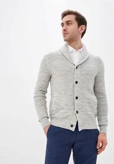 Кардиган, Banana Republic, цвет: серый. Артикул: BA067EMIDDD1. Одежда / Джемперы, свитеры и кардиганы / Кардиганы