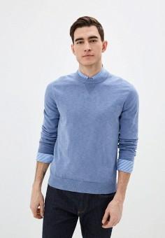Джемпер, Banana Republic, цвет: голубой. Артикул: BA067EMIDDI6. Одежда / Джемперы, свитеры и кардиганы / Джемперы и пуловеры