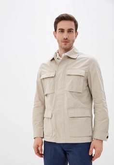 Куртка, Banana Republic, цвет: бежевый. Артикул: BA067EMJHVD0.