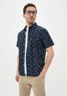 Рубашка, Banana Republic, цвет: синий. Артикул: BA067EMJHVJ9. Одежда / Рубашки