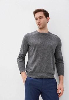 Джемпер, Banana Republic, цвет: серый. Артикул: BA067EMJHVL1. Одежда / Джемперы, свитеры и кардиганы / Джемперы и пуловеры