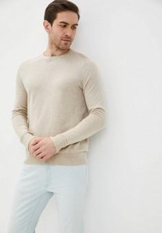 Джемпер, Banana Republic, цвет: бежевый. Артикул: BA067EMJHVL2. Одежда / Джемперы, свитеры и кардиганы / Джемперы и пуловеры