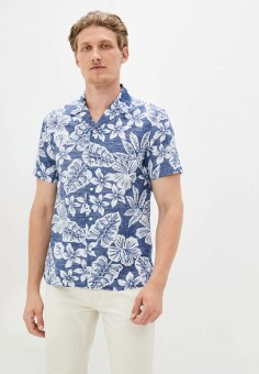 Рубашка, Banana Republic, цвет: синий. Артикул: BA067EMJHVN1.