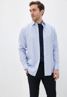Рубашка, Banana Republic, цвет: голубой. Артикул: BA067EMJJIT6.