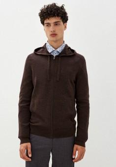 Кардиган, Banana Republic, цвет: коричневый. Артикул: BA067EMKFCS1. Одежда / Джемперы, свитеры и кардиганы / Кардиганы