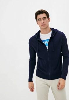 Кардиган, Banana Republic, цвет: синий. Артикул: BA067EMKFCS2. Одежда / Джемперы, свитеры и кардиганы / Кардиганы