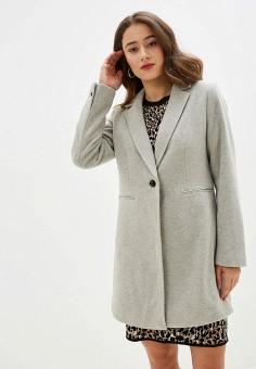 Пальто, Banana Republic, цвет: серый. Артикул: BA067EWFZPX3.