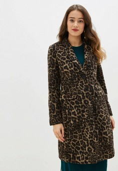 Пальто, Banana Republic, цвет: коричневый. Артикул: BA067EWFZQF8.