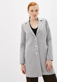 Пальто, Banana Republic, цвет: серый. Артикул: BA067EWFZQF9.