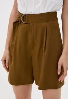 Шорты, Banana Republic, цвет: коричневый. Артикул: BA067EWIDGA6. Одежда / Шорты