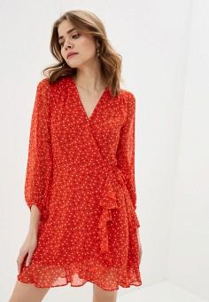Платье, Banana Republic, цвет: красный. Артикул: BA067EWIDGF1.