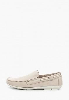 Мокасины, Baerchi, цвет: серый. Артикул: BA072AMIBVA7. Обувь / Мокасины и топсайдеры