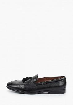 Лоферы, Baltarini, цвет: черный. Артикул: BA082AMHRCS2. Обувь / Туфли