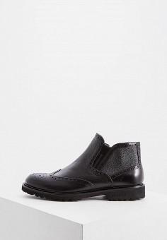 Ботинки, Baldinini, цвет: черный. Артикул: BA097AMFLEL2.