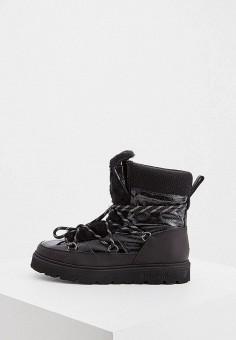 Полусапоги, Baldinini, цвет: черный. Артикул: BA097AWFLET7. Обувь / Сапоги / Полусапоги
