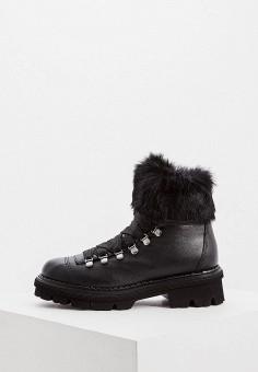 Ботинки, Baldinini, цвет: черный. Артикул: BA097AWFLFF5.