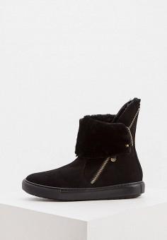 Ботинки, Baldinini, цвет: черный. Артикул: BA097AWFLFH0.