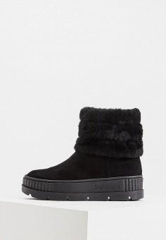 Полусапоги, Baldinini, цвет: черный. Артикул: BA097AWFLFH2. Обувь / Сапоги