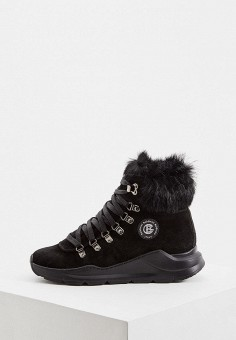 Ботинки, Baldinini, цвет: черный. Артикул: BA097AWFLFY3.