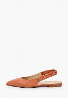 Туфли, Baldinini, цвет: коралловый. Артикул: BA097AWIPWK4.