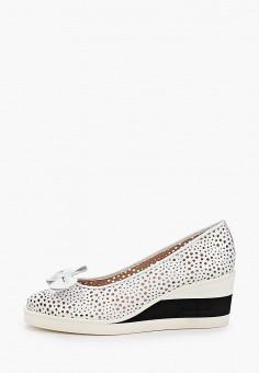 Туфли, Baldinini, цвет: белый. Артикул: BA097AWIPWO5.