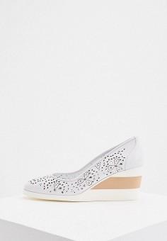 Туфли, Baldinini, цвет: белый. Артикул: BA097AWIPWO7.