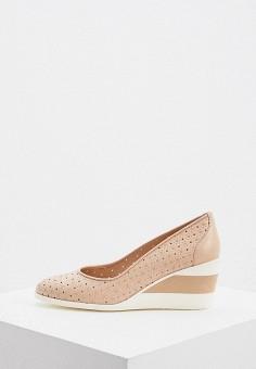 Туфли, Baldinini, цвет: розовый. Артикул: BA097AWIPWO8.