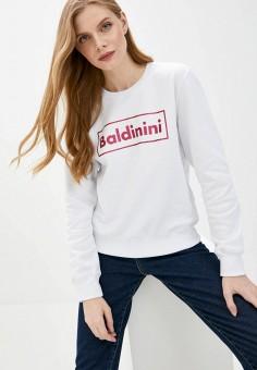 Свитшот, Baldinini, цвет: белый. Артикул: BA097EWJKNJ2.