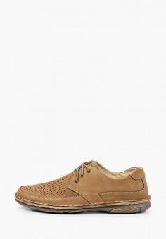 Ботинки, Baden, цвет: коричневый. Артикул: BA993AMJATZ5. Обувь / Ботинки / Низкие ботинки