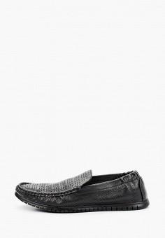 Мокасины, Baden, цвет: черный. Артикул: BA993AMJATZ8. Обувь / Мокасины и топсайдеры
