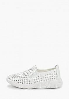 Слипоны, Baden, цвет: белый. Артикул: BA993AWDOJK6. Обувь / Слипоны