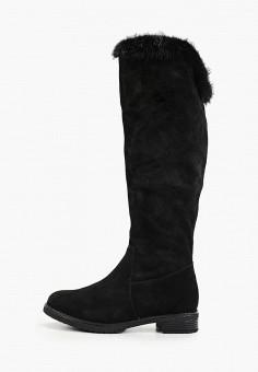 Ботфорты, Baden, цвет: черный. Артикул: BA993AWFSUN1. Обувь / Сапоги / Ботфорты