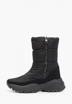 Дутики, Baden, цвет: черный. Артикул: BA993AWFSUN5. Обувь / Сапоги / Дутики