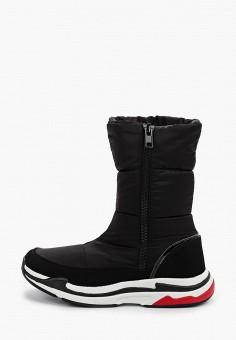 Дутики, Baden, цвет: черный. Артикул: BA993AWFSUN7. Обувь / Сапоги / Дутики