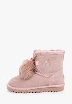 Полусапоги, Baden, цвет: розовый. Артикул: BA993AWFSUO0. Обувь / Сапоги