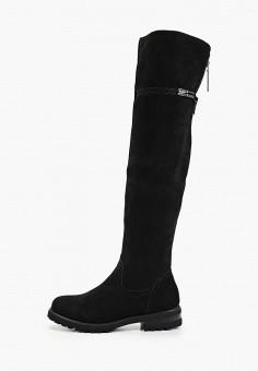 Ботфорты, Baden, цвет: черный. Артикул: BA993AWFSUV1. Обувь / Сапоги / Ботфорты