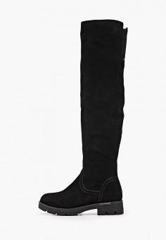 Ботфорты, Baden, цвет: черный. Артикул: BA993AWFSUV2. Обувь / Сапоги / Ботфорты