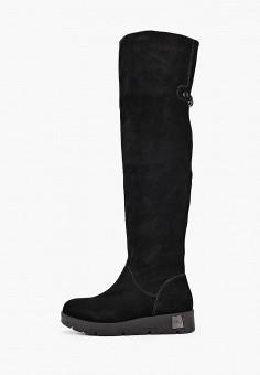 Ботфорты, Baden, цвет: черный. Артикул: BA993AWFSUV3. Обувь / Сапоги / Ботфорты