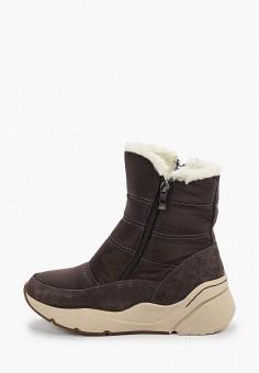 Дутики, Baden, цвет: серый. Артикул: BA993AWFSUV9. Обувь / Сапоги / Дутики