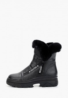 Полусапоги, Baden, цвет: черный. Артикул: BA993AWFSVI2. Обувь / Сапоги / Полусапоги