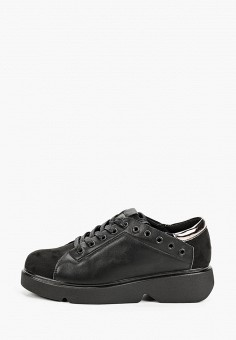 Ботинки, Baden, цвет: черный. Артикул: BA993AWJAUC0. Обувь / Ботинки / Низкие ботинки