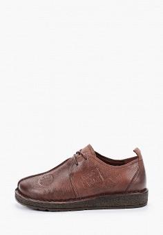 Ботинки, Baden, цвет: коричневый. Артикул: BA993AWJAUD9. Обувь / Обувь с увеличенной полнотой