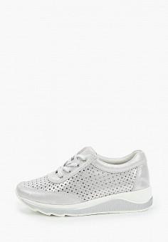 Кроссовки, Baden, цвет: серебряный. Артикул: BA993AWJAUP6. Обувь / Обувь с увеличенной полнотой