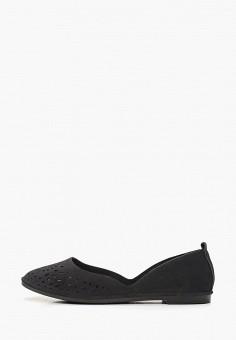 Балетки, Betsy, цвет: черный. Артикул: BE006AWEMVJ7. Обувь / Балетки